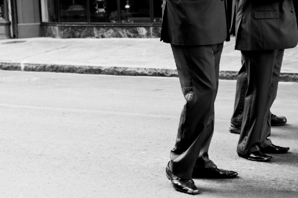 The history of the business suit