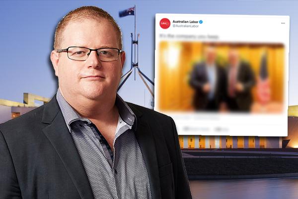 Mark Levy slams Labor Party's 'offensive' social media stunt