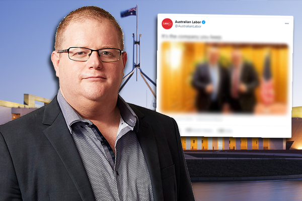 Mark Levy slams Labor Party's 'offensive' social media stunt