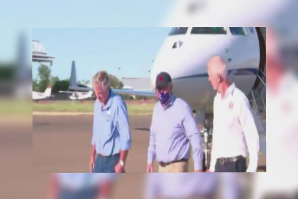 Article image for Scott Morrison's four-day tour of drought-affected communities