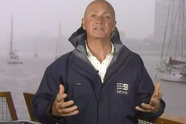 Article image for Why weatherman Garry Youngberry's been wearing thongs each night!