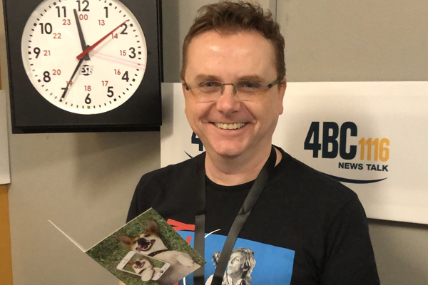 Article image for Radio legend Spencer Howson joins 4BC with Weekends