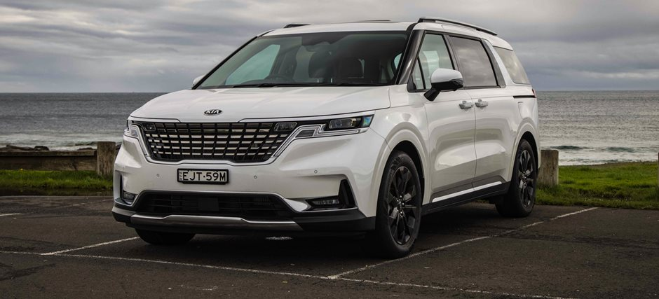 Kia's fourth generation Carnival people-mover – really lifts the bar in so many ways apart from the petrol models fuel economy