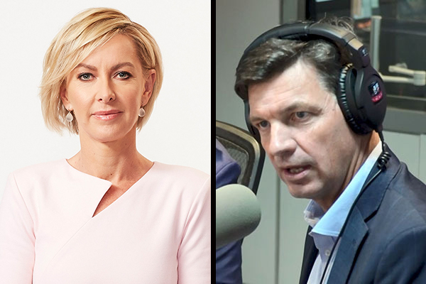 Article image for Angus Taylor clashes with Deborah Knight over staffer rights