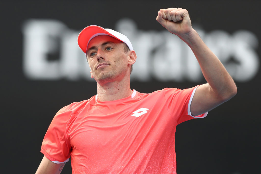 Article image for 'That's sport in a nutshell, isn't it?': John Millman 'hurt' by first round loss