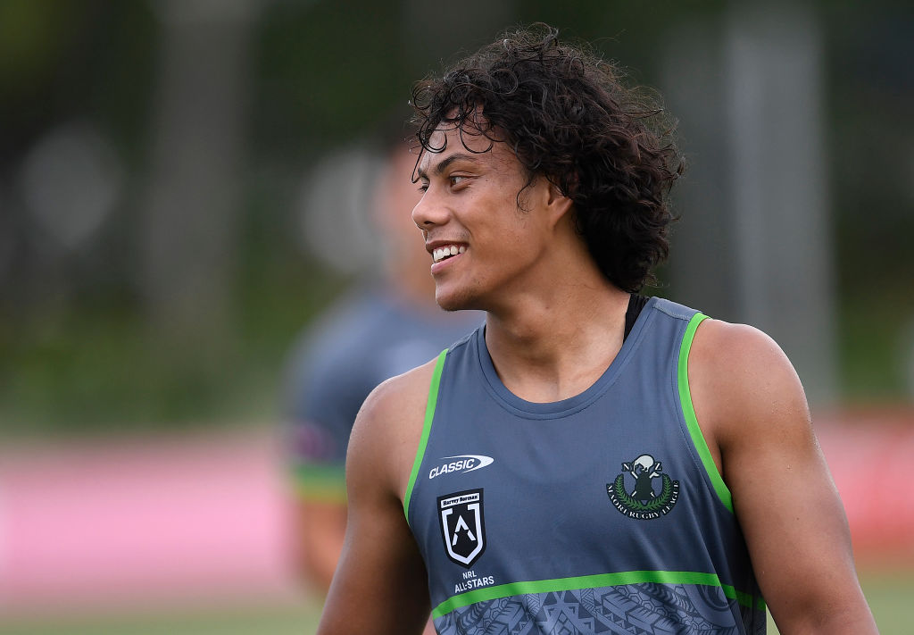 Article image for Jarome Luai takes the field with his Maori All Star heroes