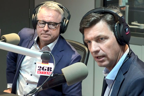 Angus Taylor challenges Labor MP's stance on tensions with China