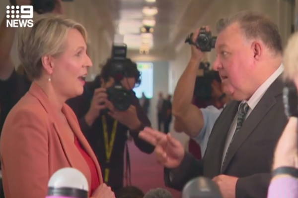 Article image for Tanya Plibersek doubles down after fiery confrontation with Craig Kelly