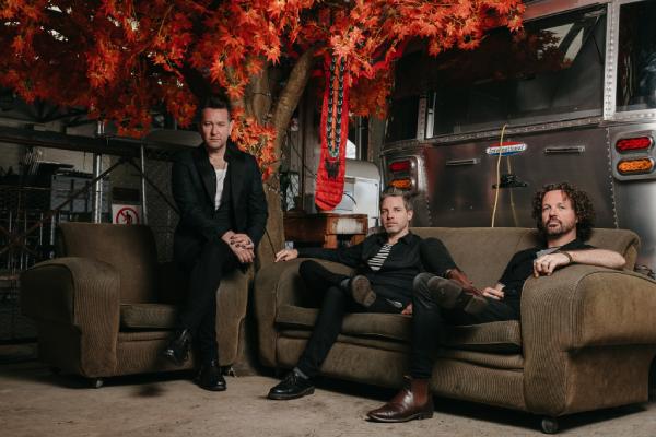 Aussie rock trio Eskimo Joe back together making new tunes