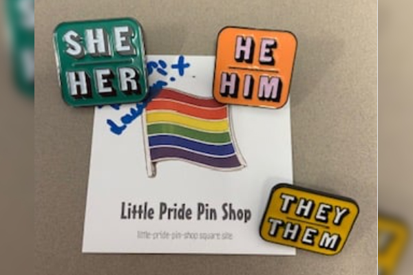 Article image for Brisbane high school introduces badges in strong step toward gender inclusion