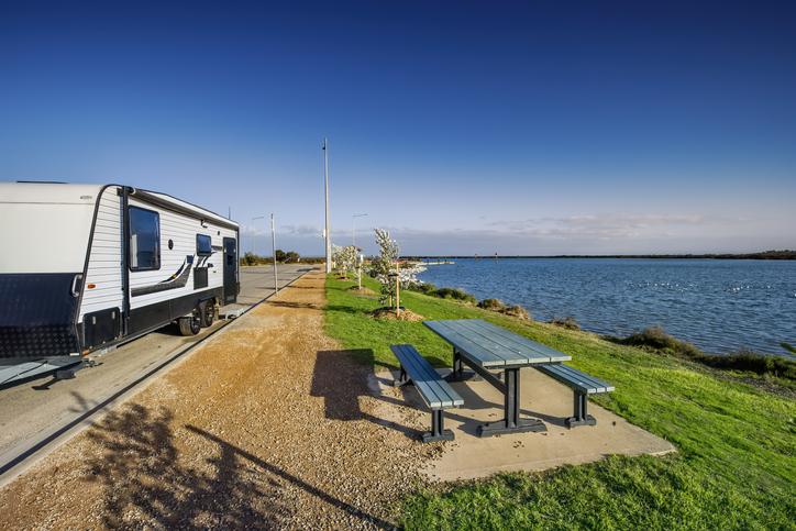 Local towns suffer in mess left by caravanning boom