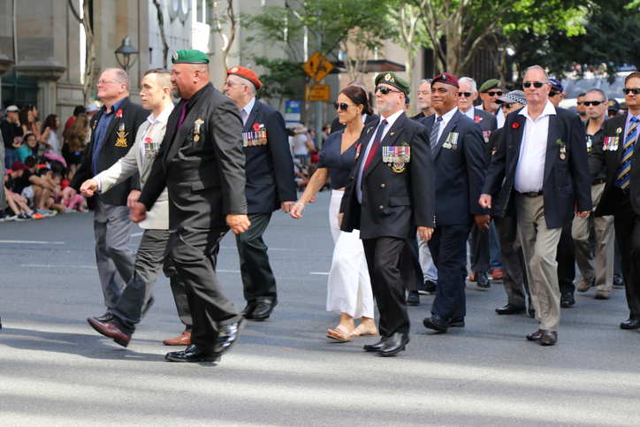 Article image for Aussie vets still awaiting answer on march for 'very special day'