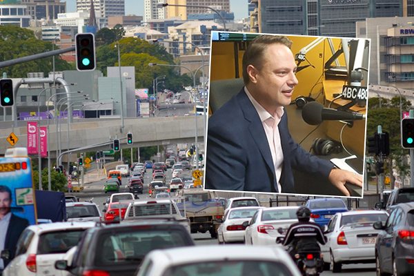 Article image for Lord Mayor's call out to Brisbanites to solve inner-city traffic
