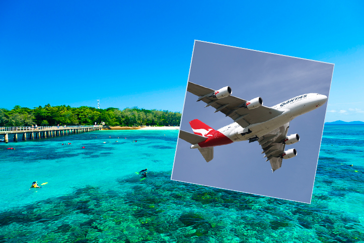 Article image for Major route missed in government's half-price flights 'because that's the way it is'