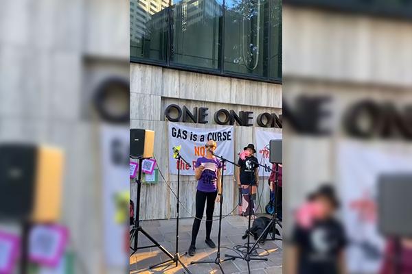 Article image for Extinction Rebellion returns to Brisbane streets