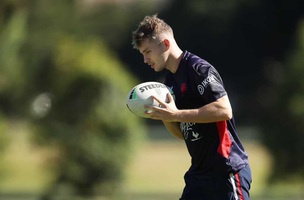Article image for Second-generation Walker continues family legacy in Roosters debut