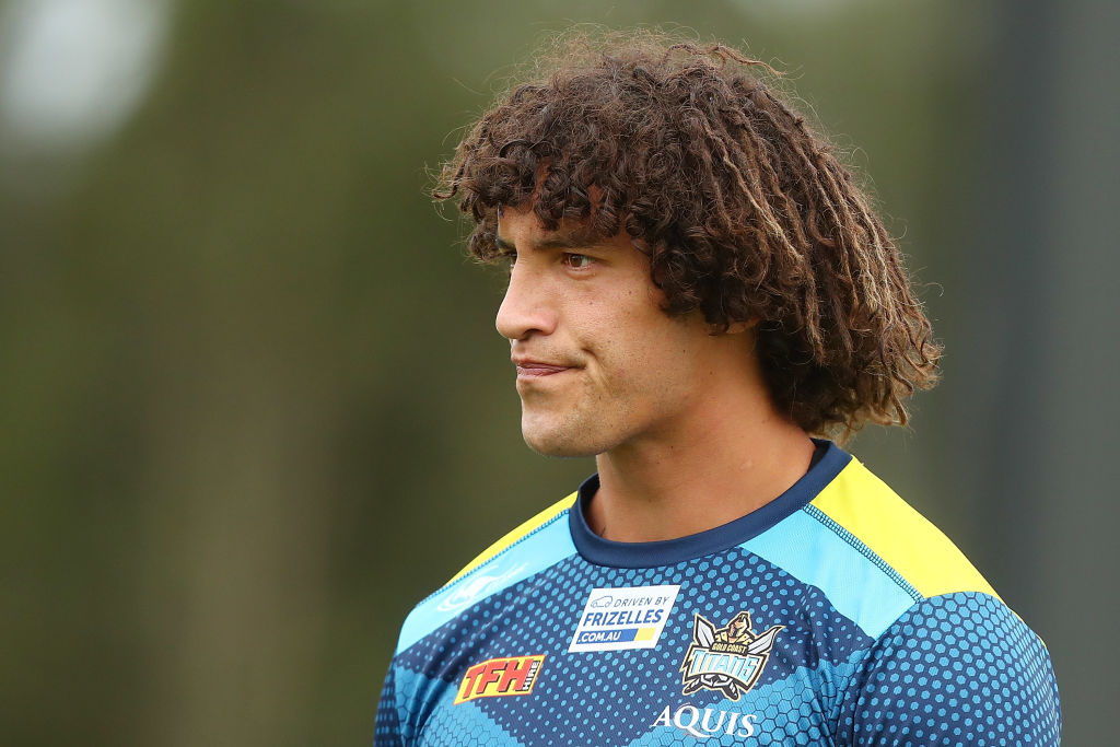 Article image for Gold Coast Titans young talent keep Kevin Proctor's 'fire in the belly'