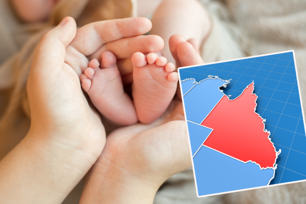 Article image for The towns in Queensland seeing a baby blitz!