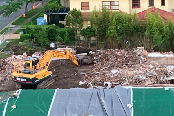 'Devastated': Historic Toowong house demolished despite campaign to save it