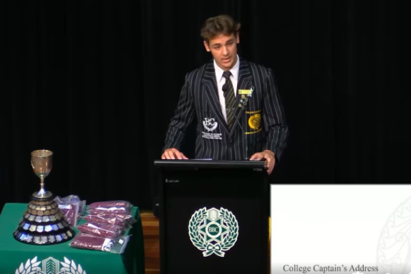 Article image for What motivated Brisbane Boys' captain's moving speech on sexual consent and assault