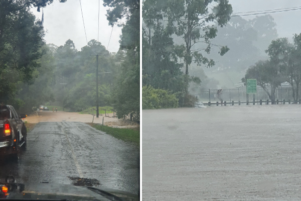 Article image for STAY INSIDE: Queenslanders told to keep off the roads as rain event intensifies