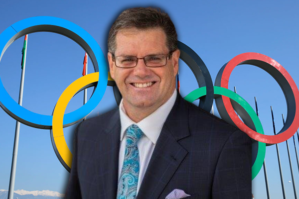 'Get on a plane!': Peter Gleeson challenges Olympic detractors