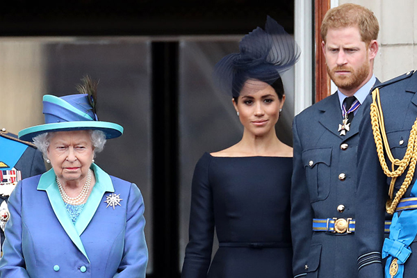 Article image for Queen breaks silence on Prince Harry and Meghan's explosive interview