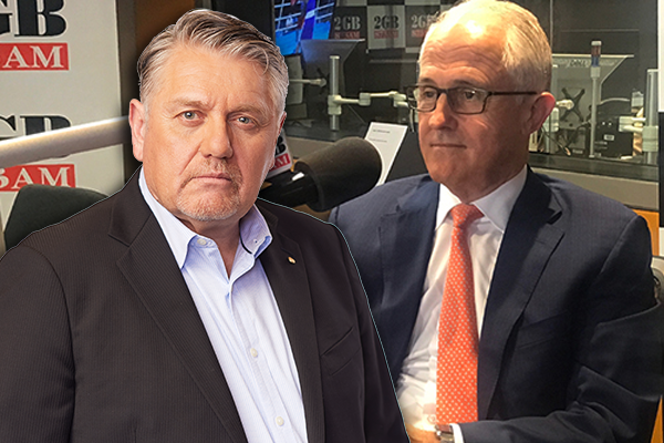 Article image for A 'strange twist': Ray Hadley exposes Malcolm Turnbull's 'true colours'