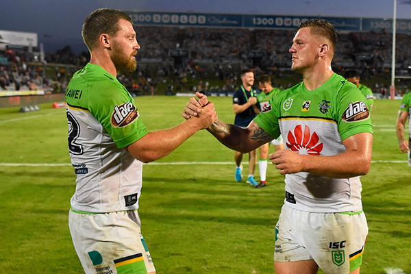 Article image for How a pandemic, a coach and a Christmas dinner made the Canberra Raiders a family