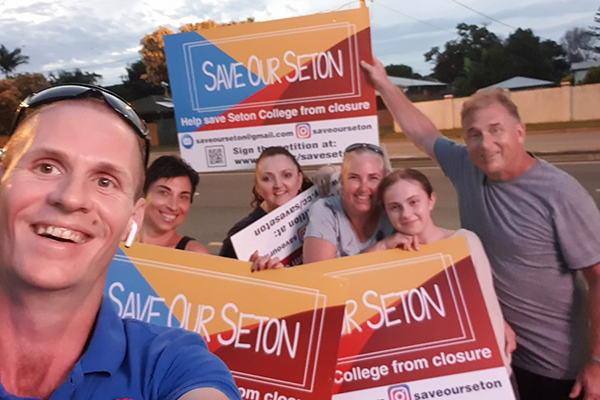 Article image for Families rally in desperate fight to save beloved Mt Gravatt school