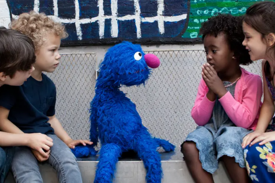 Article image for Sesame Street tackles hard conversations