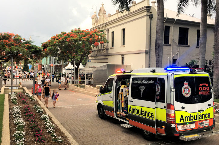 Article image for 'Worst I have ever seen': Opposition fires up over ambulance ramping crisis