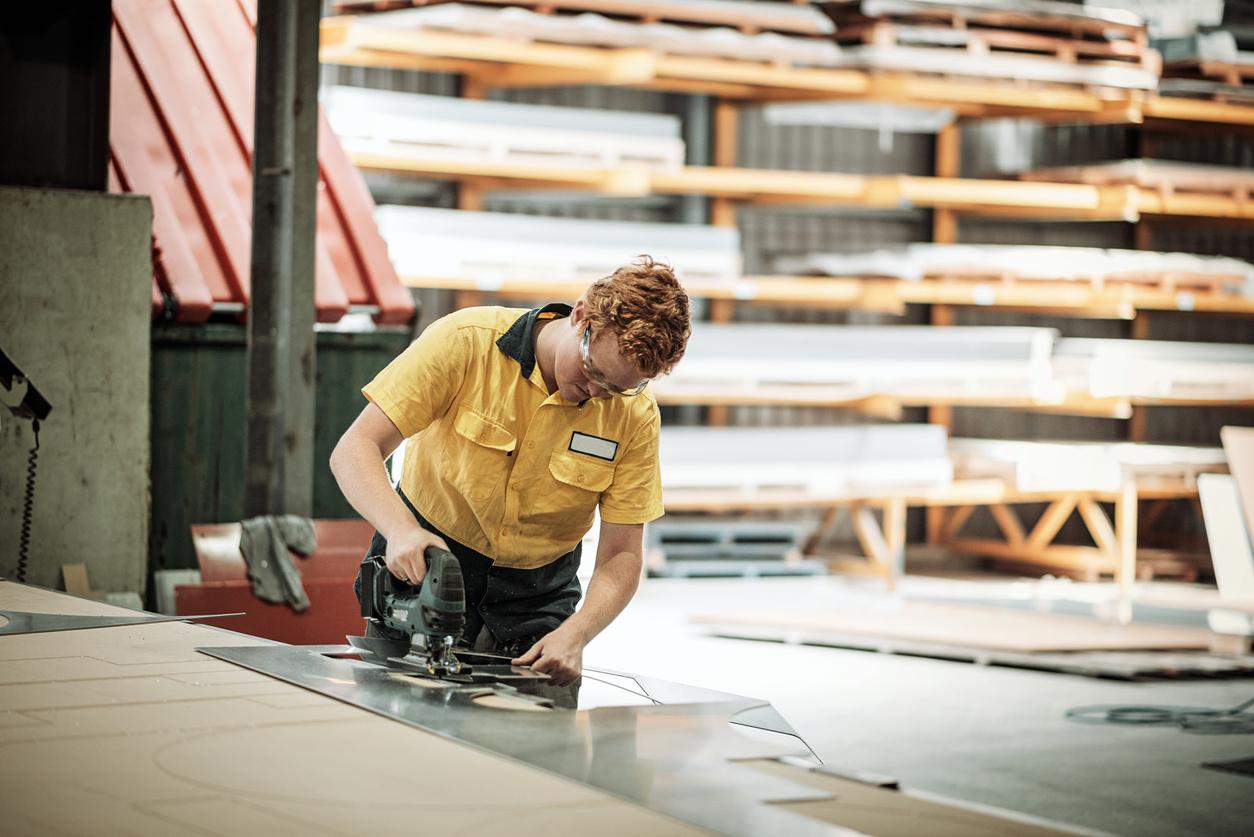 The top three industries taking up the apprenticeship scheme