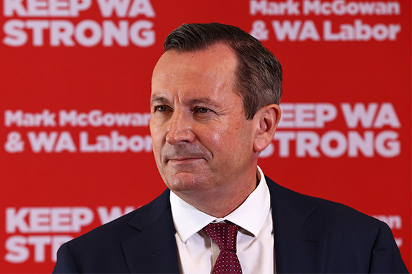 Article image for WA Premier Mark McGowan appoints himself Treasurer
