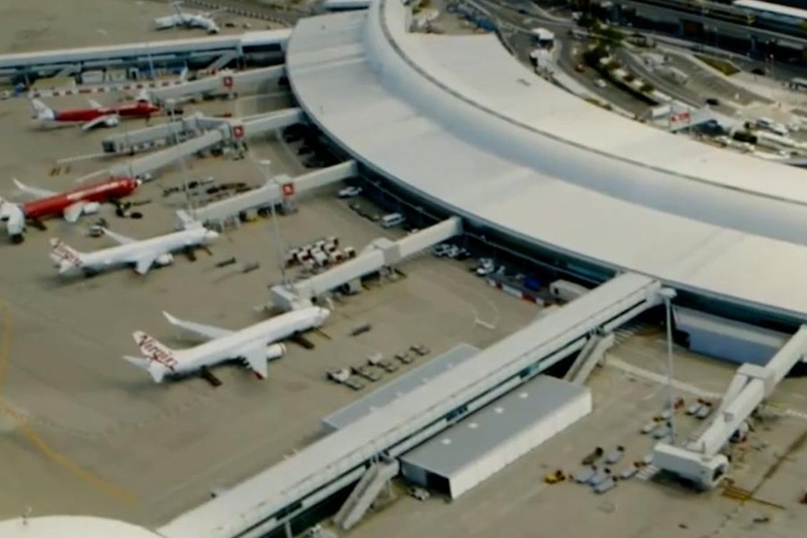 Power surge at Brisbane Airport creates traveller chaos