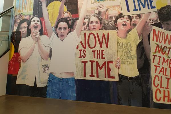 GOMA exhibition encourages children to protest