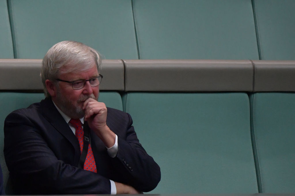 Kevin Rudd's spontaneous trial as a ride-share driver