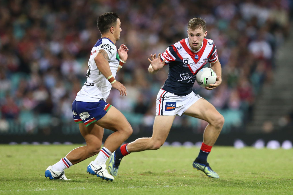 Article image for 'Pretty crazy': Roosters rookie Sam Walker makes NRL debut
