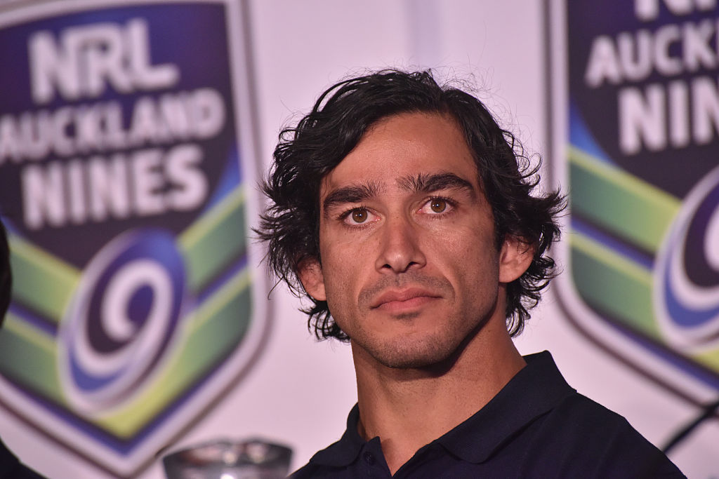 Article image for Why Johnathan Thurston's 'not a fan' of the plan to split NRL competition