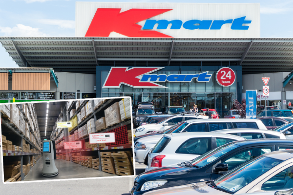 Article image for 'The robots are coming!': Robots to be introduced in all Kmart stores