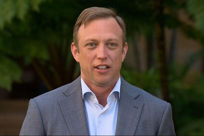 Deputy Premier denies dropping expletive on Scott Morrison