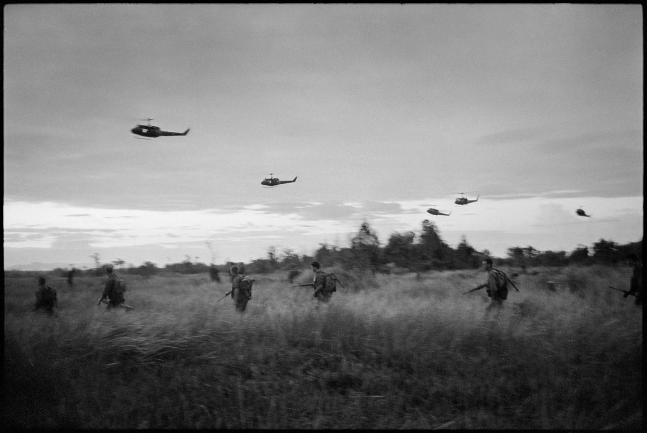 thumbnail_6RAR assaulting into the Long Green at Long Hai. 1966©Tim Page