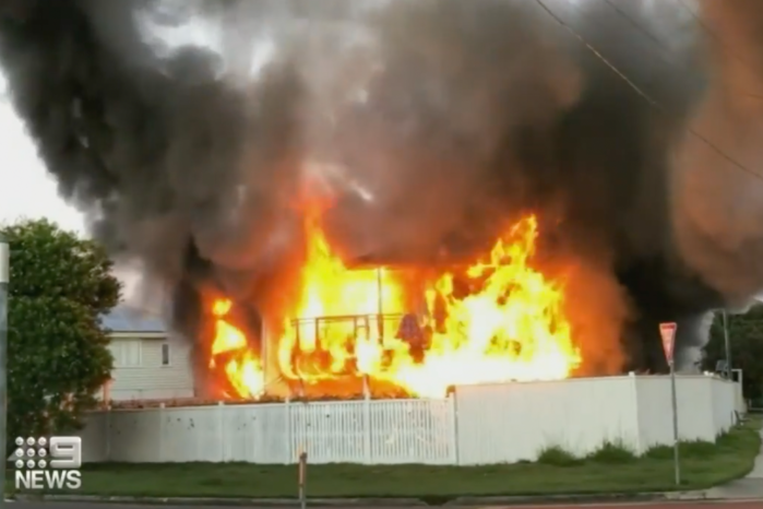 Article image for Police defend circumstances around Wooloowin house fire