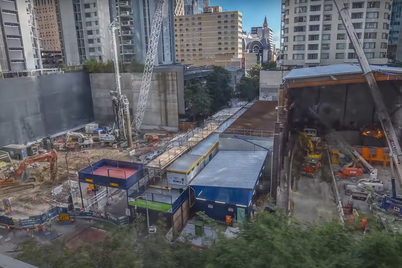Construction site's late-night activity agitating residents with bone-rattling noise
