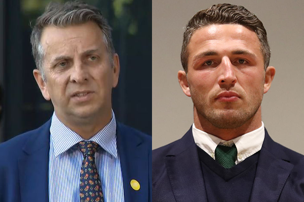 Article image for Transport Minister 'misled' over Sam Burgess' licence, whistleblowers reveal