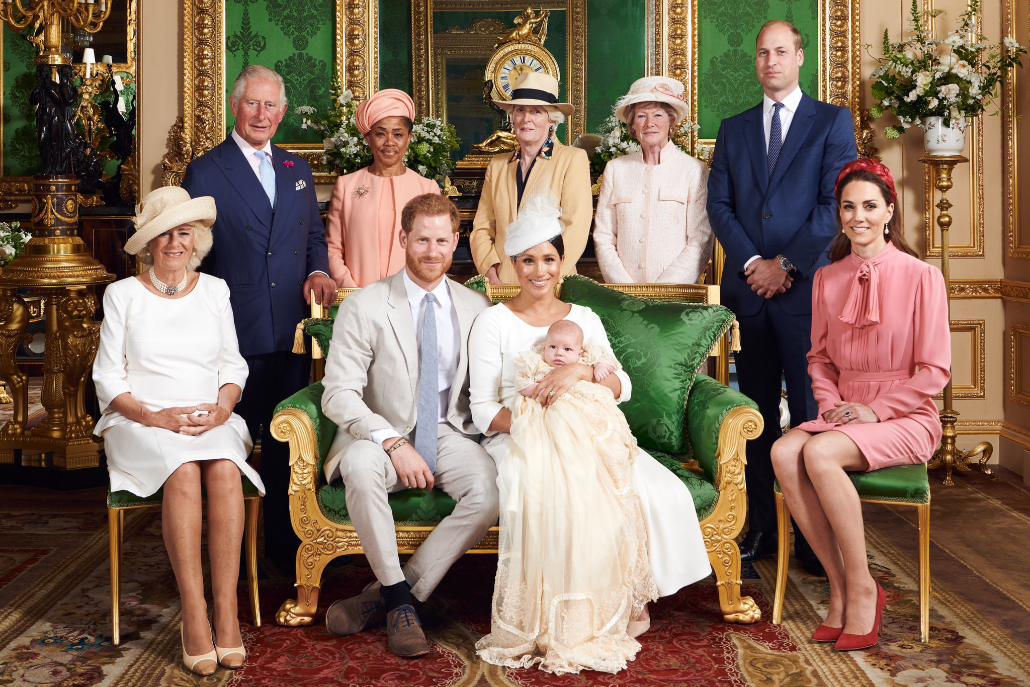 Article image for The Royal Family celebrates Archie's birthday