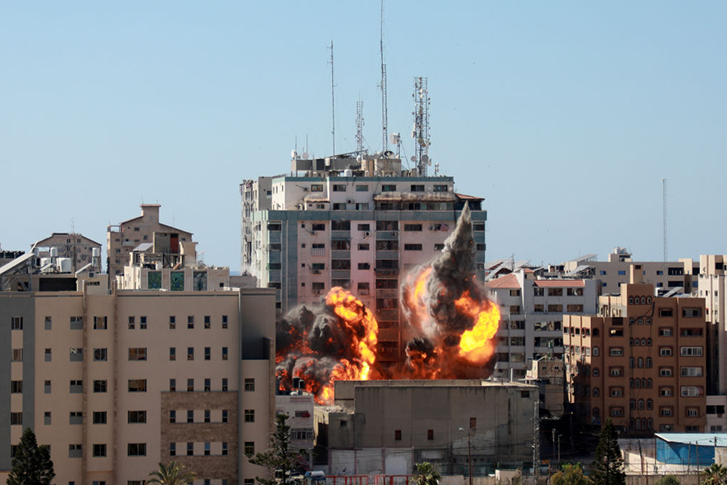 Why international media was bombed in midst of Israel-Palestine conflict