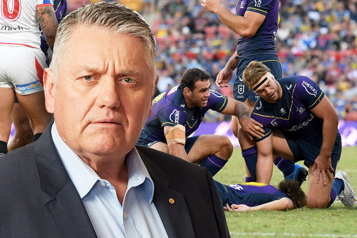 Article image for 'These people are my friends': Ray Hadley's powerful defence of the high tackle crackdown