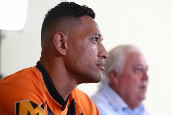 The potential obstacle for Israel Folau's comeback bid