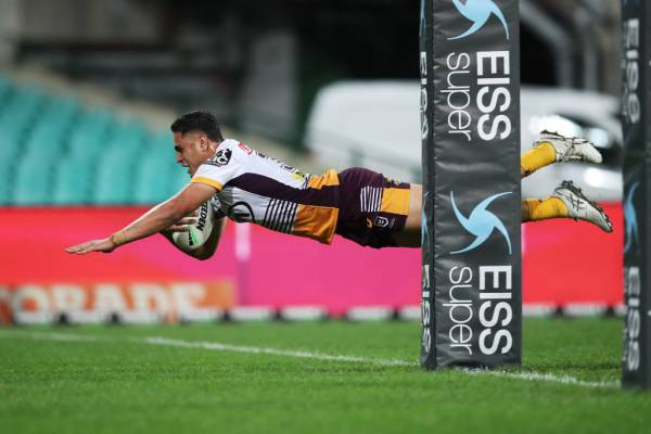 Article image for Brisbane Broncos rookie Keenan Palasi ready to take on the Storm